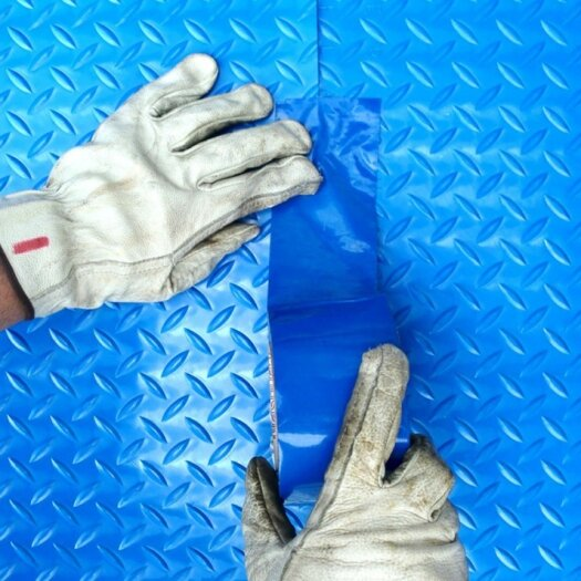 Cover Guard Blue Duct Tape Image