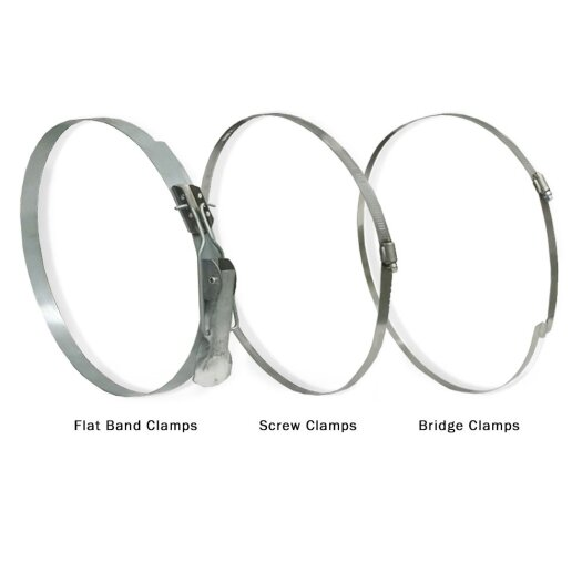 Ducting Hose Clamps Image