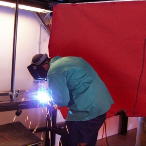 Welding Fire Blanket Image