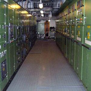 Military Switchboard Matting Image