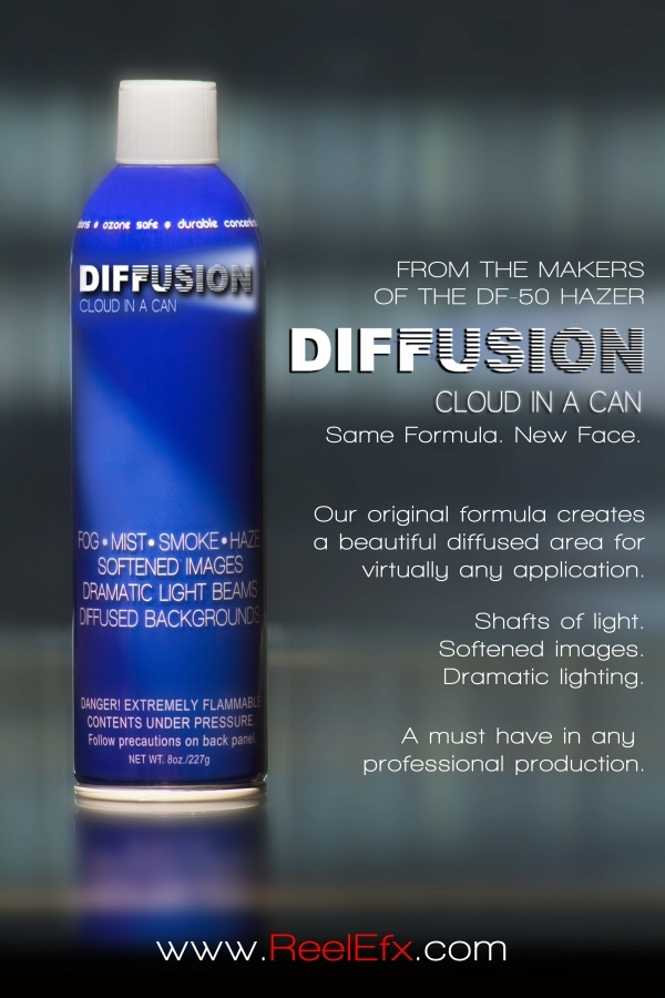 Diffusion in a can Image