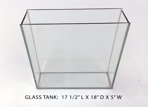 Glass Tank 5 - 17.5x5x18 Image