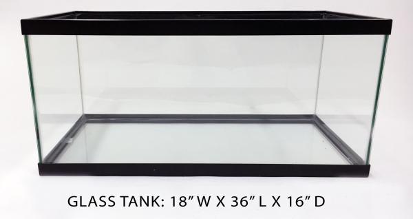 Glass Tank 4 - 18x36x16 Image