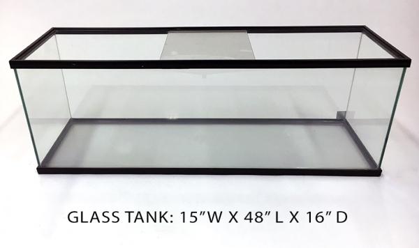 Glass Tank 3 - 15x48x16 Image