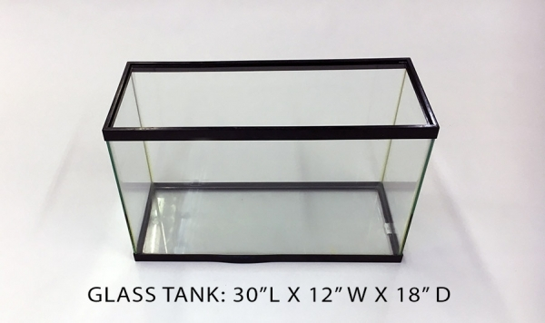 Glass Tank 1 - 30x12x18 Image