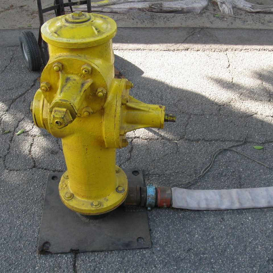 Water Effects - Fire Hydrant Image