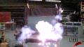 Laser Hitting Computer Test Image
