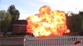 DIRECTV - 'House' - BTS Final Explosion Image