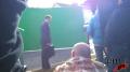 DIRECTV - 'House' - BTS Green Screen Image