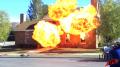 DIRECTV - 'House' - BTS Test Explosions Image