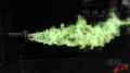 Green Afterburner Test Image