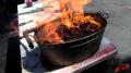 Flaming Cauldron Test - Thin Liquid Image