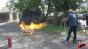 Flame Thrower Fire Pit Test Image