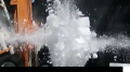 Ice Block Pyro Test 400fps Image