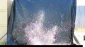 Multicolor Confetti 1/4 Inch iED Test - High Speed Image