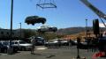 Crane Spreader Car Lift - On Set Image