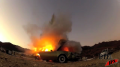 Car Explosion - On Set Image