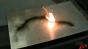 Smokeless gunpowder burning test Image