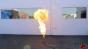 Propane Fire Columns Test 1 Image