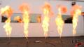Propane Fire Columns Test 3 Image
