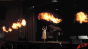 Tracfone On Set - Fire Columns and Fountain Sparks Image