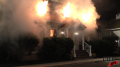 Gildan Exterior House Fire - On Set Image