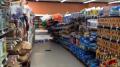 Falling Supermarket Shelves - On Set Image