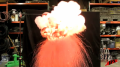 Staples - Magician Pyro Poof Test Montage Image
