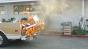 Orange Truck Test 100psi 400fps Image