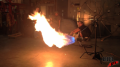 Propane Flame Afterburner Test 1 Image