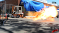 Propane Flame Afterburner Test 2 Image
