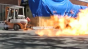 Propane Flame Afterburner Test 3 (High Speed) Image