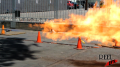 Propane Flame Afterburner Test 4 (1/4 inch front) Image