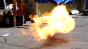 Propane Flame Afterburner Test 6 (1/8 inch side) Image