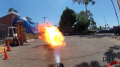 Propane Flame Afterburner Test 10 (GoPro Single Nozzle) Image