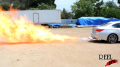 Infiniti Second Car Flame Test 1 Image