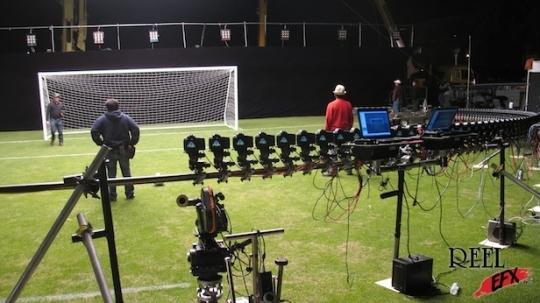 90 camera Digital Multicam shoot Image